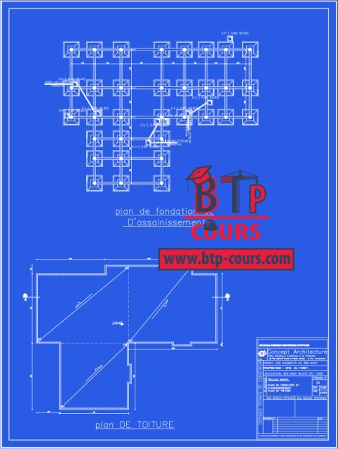 PlanDWG: Plan B.A et Archi