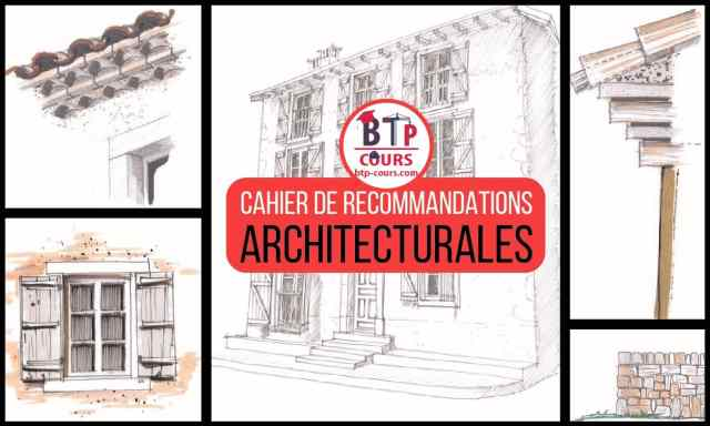 RECOMMANDATIONS ARCHITECTURALES