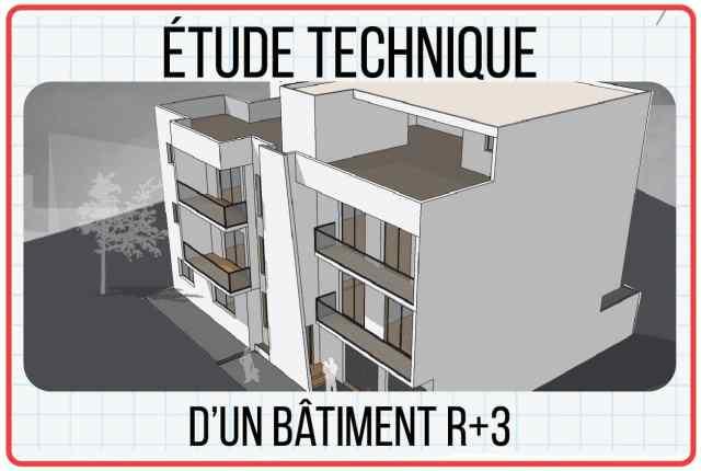 Étude d'un bâtiment R+3