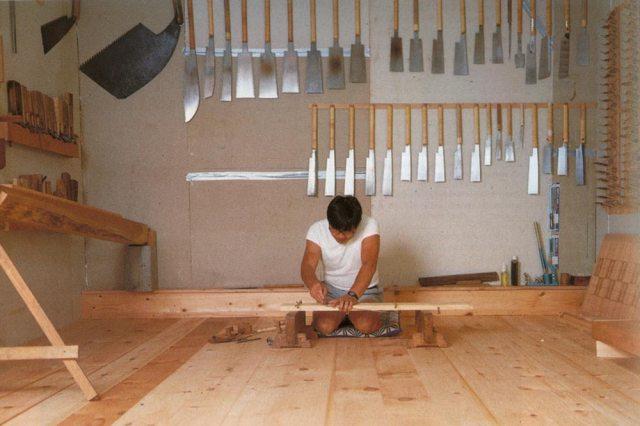 atelier de menuiserie japonaise