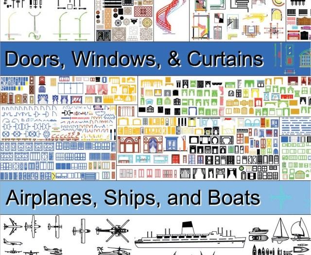 Autocad ressources: Gigantesque bibliothèque de block
