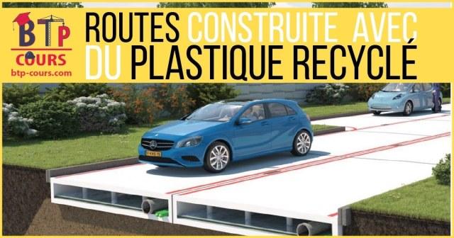 La Hollande va construire ses routes avec du plastique recyclé