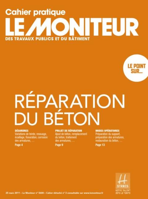 couverture du livre Reparation du béton