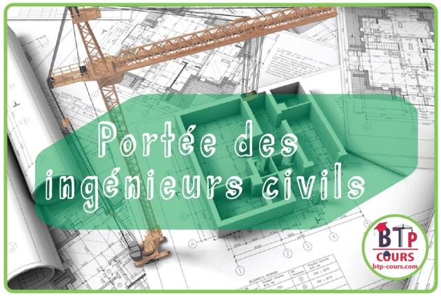 Portée des ingénieurs civils