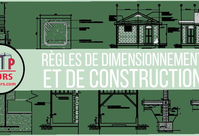 RÈGLES DE DIMENSIONNEMENT ET DE CONSTRUCTION POUR LES LOGEMENTS EN MAÇONNERIE CHAÎNEE