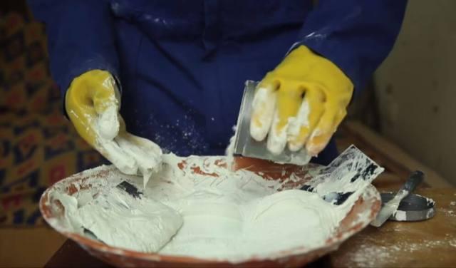 mortier ciment blanc