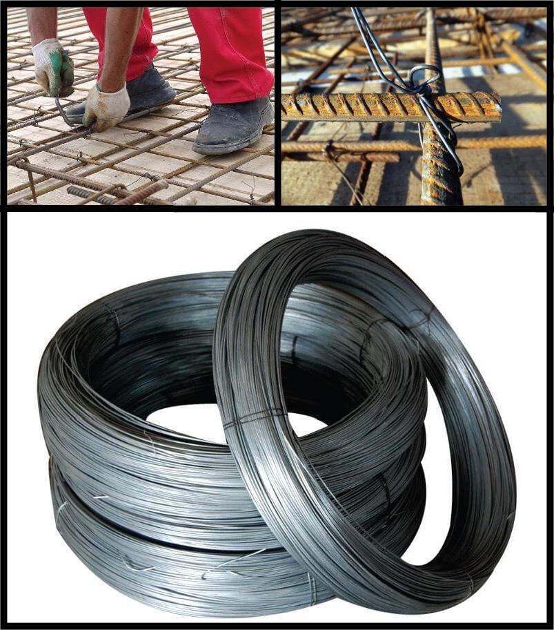 Pourquoi les aciers sont-ils liés par un fil métallique?
