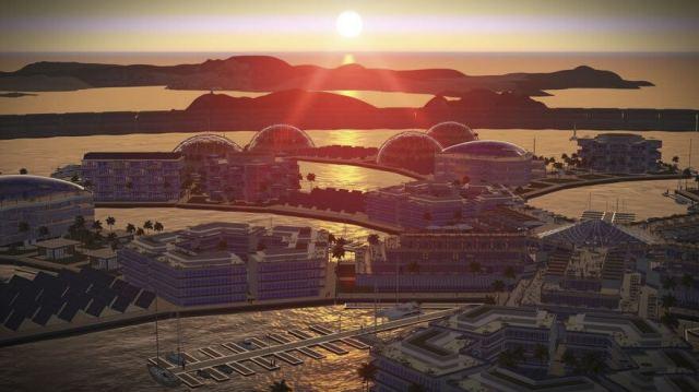 La première ville flottante au monde
