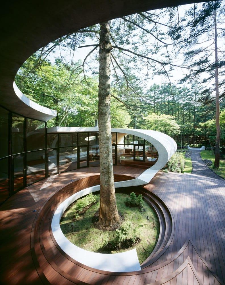 Shell House ou Spaceship Villa (Japon)
