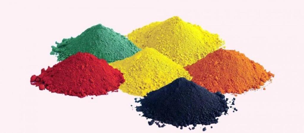 Ciment coloré