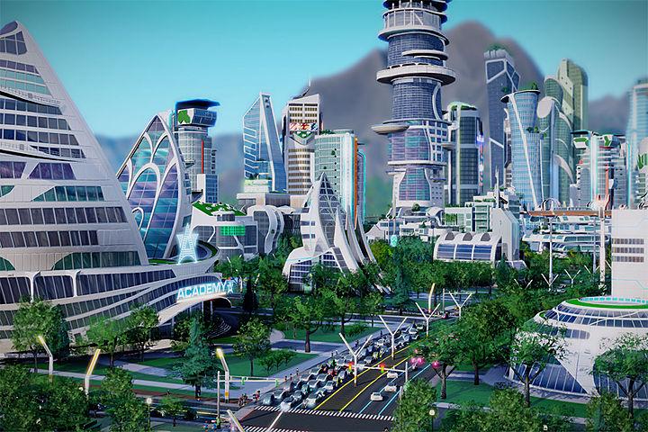 Sim City - jeux d'architecture