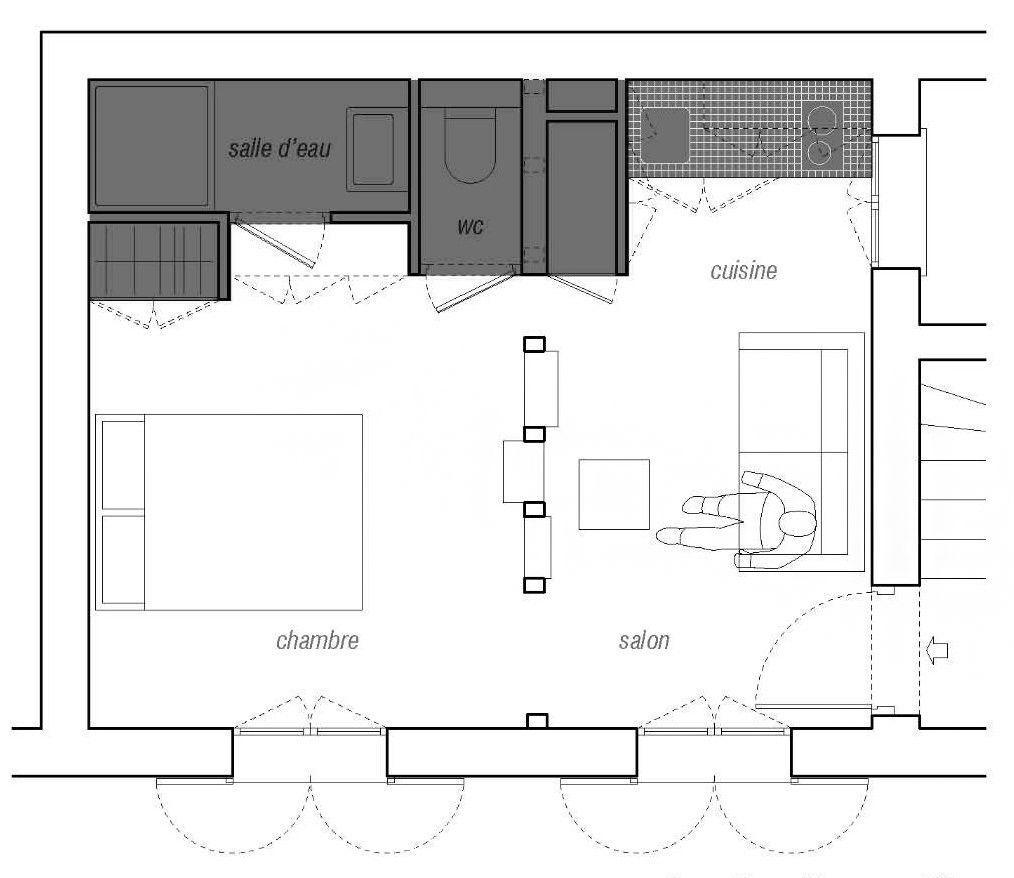 Appartement Montmartre   Architectes SWAN