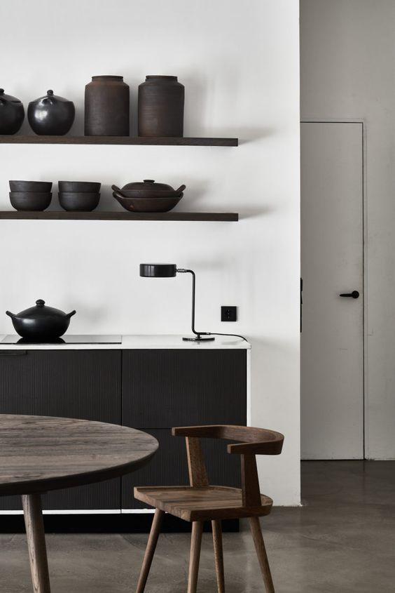 cuisine Noir & Blanc