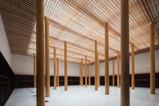 Columbarium Myoenji du studio de design architectural Furumori Koichi, Fukuoka, Japon