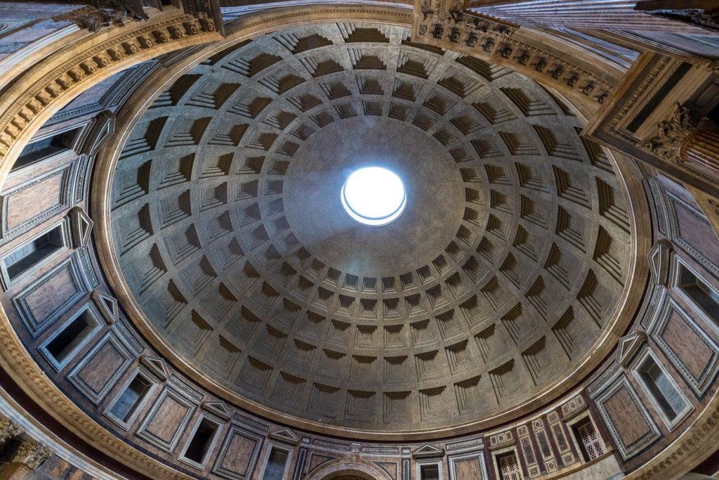 Coupole du Panthéon de Rome