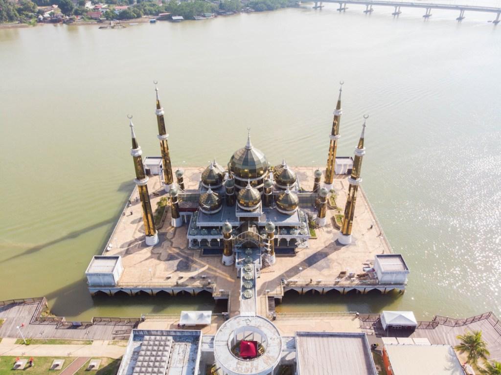 Mosquée de cristal à Wan Man, Terengganu, Malaisie