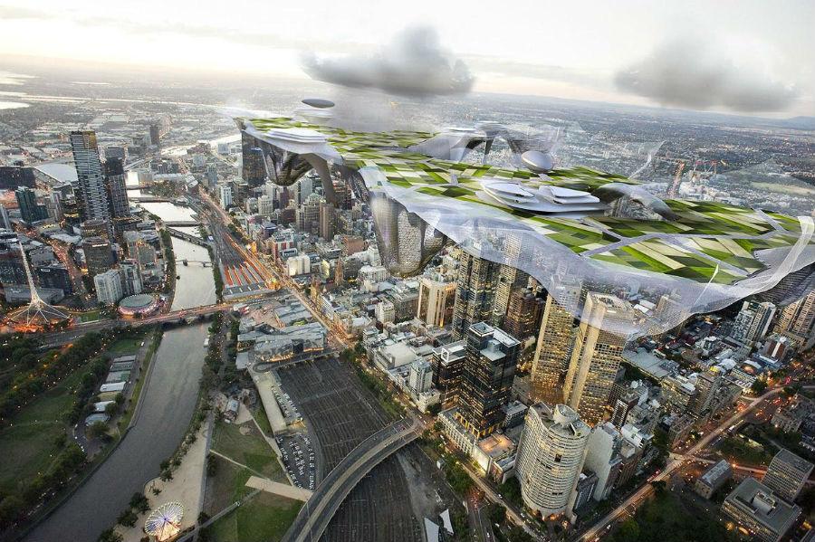 Melbourne vertical