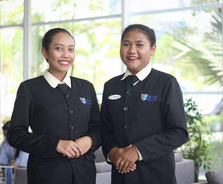 Mahasiswa BTP (Eva Fadillah & Elyn Hingir) On The Job Training di THE BVLGARI Resort Bali dan THE SOFITEL Beach Resort Bali