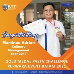 Pemenang Kompetisi Pasta Challenge PERWARA 2021 Kota Batam