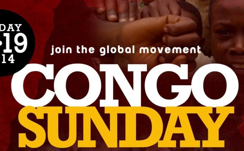 Congo Sunday: Say Yes! Break the Silence