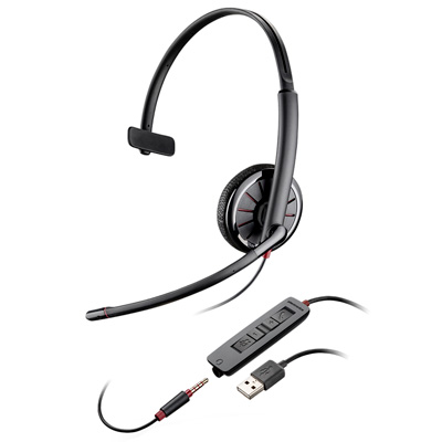 C315.1-M Blackwire Mono USB Headset w/3.5mm