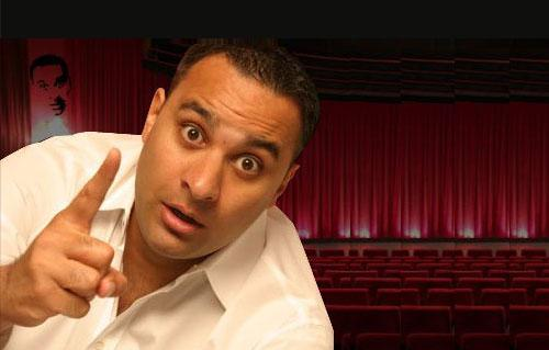 Back for round two... Russell Peters knows how its done