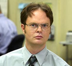 the office - dwight shrute - rainn wilson