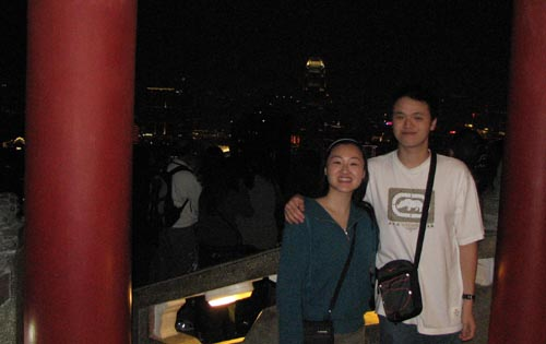 on top of hong kong - cityscape - susanne and michael