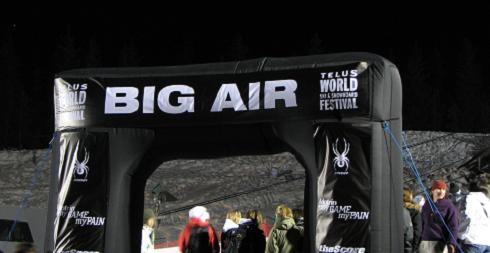 Telus World Ski & Snowboard Festival - Big Air Competition 2008