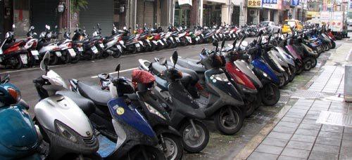 Taipei Taiwan - Scooters
