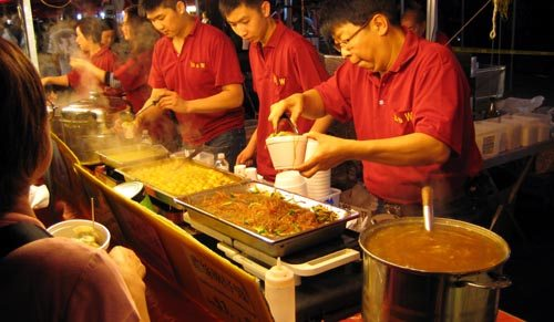 Summer Night Market Food