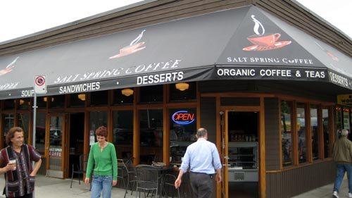Coffee on Main Street - Salt Spring Coffee