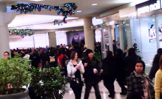 Boxing Day at Metrotown