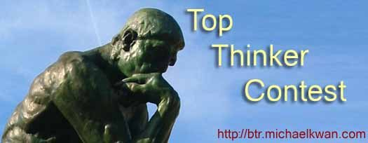 Top Thinker (and Best Thought) Contest