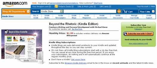 Beyond the Rhetoric (Kindle Edition)