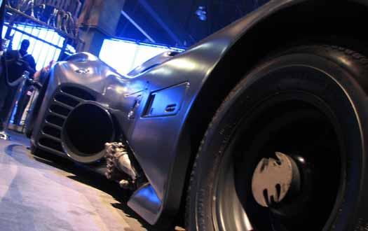 Batmobile Gotham City (E3 Expo 2009)