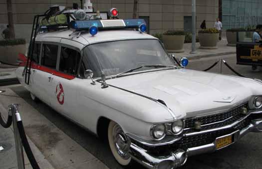 Ghostbusters Ecto 1 Car  (E3 Expo 2009)