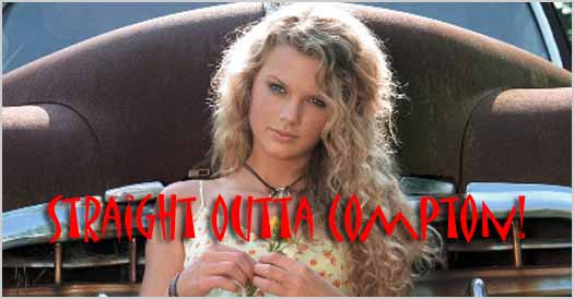 Taylor Swift Is So Gangsta? (Video)