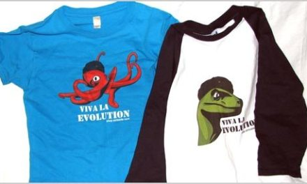 Viva La Evolution (Trilobite Clothing)