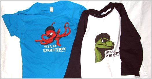 Viva La Evolution with Trilobite Clothing