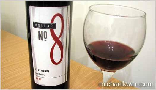 Zinfandel Red Wine from Cellar No. 8