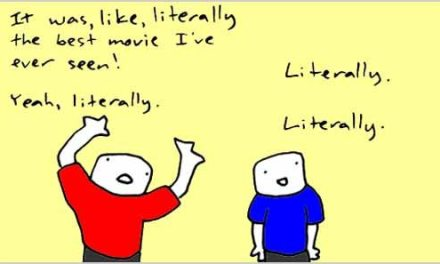 Grammar 101: Using Literally for Emphasis