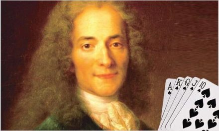 Sunday Snippet: Voltaire's View on Cards