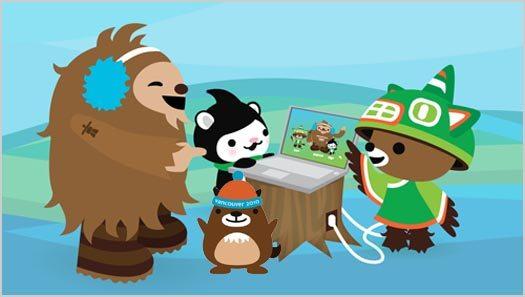 vancouver olympics meet the mascots