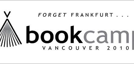 Are You Going to BookCamp Vancouver 2010?