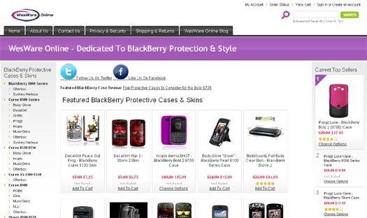 Blackberry Protect Online