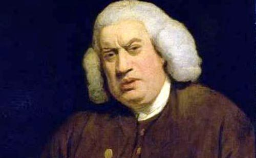 Sunday Snippet: Samuel Johnson (1709-1784)