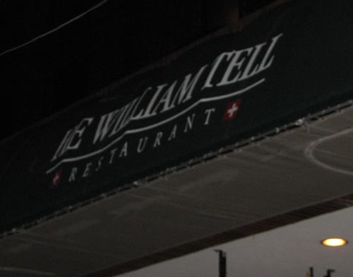 Dine Out Vancouver: The William Tell Restaurant