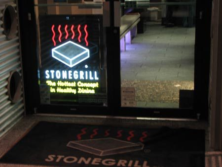 Stonegrill sells the sizzle, not the steak