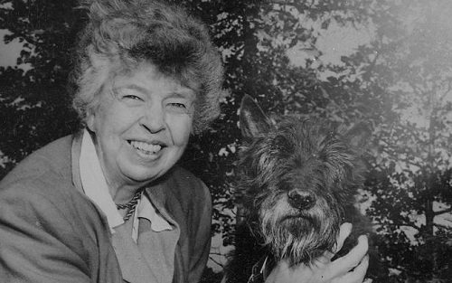Sunday Snippet: Eleanor Roosevelt (1884-1962)